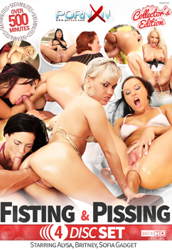 LOT 4 DVD FISTING AND PISSING