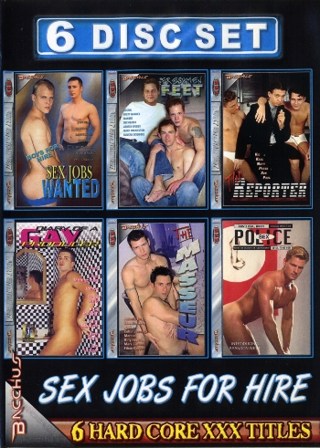 PACK 6 DVD SEX JOBS FOR HIRE
