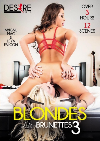 BLONDES LICKING BRUNETTES N.03